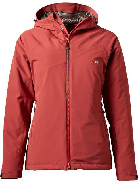 Yeti Rhonga Jacket Women red